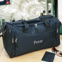 Personalized Embroidered Travel Duffel Bags