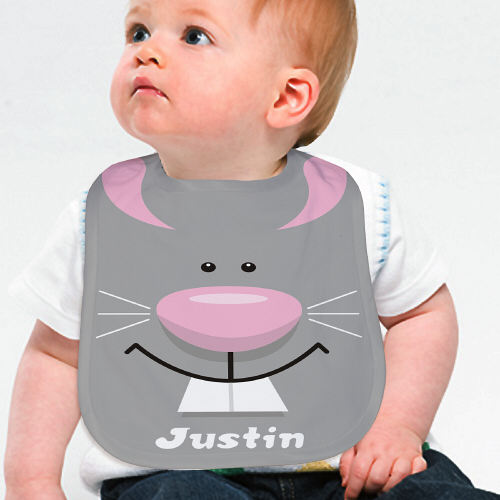 Personalized Bunny Baby Bibs