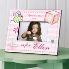 Girly Bee Personalized Girls Picture Frames