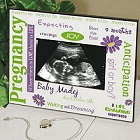 New Pregnancy Ultrasound Personalized Printed Picture Frames
