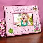 Little Princess Personalized Printed Picture Frame