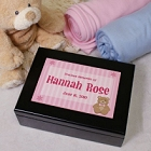 New Baby Personalized Keepsake Box