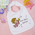 God Bless Personalized Baby Bibs