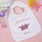 Little Princess Personalized Baby Bibs