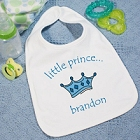 Little Prince Personalized Baby Bibs