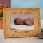 Baby Toys Personalized Wood Picture Frames