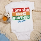 I'm The Brother Personalized Baby Onesies