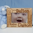 Alphabet Name Personalized Baby Boy Picture Frames