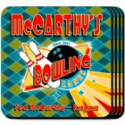 Bowler Personalized Coaster Set