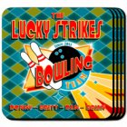 Bowling Team Personalized Coaster Set
