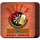 Darts Personalized Coaster Set