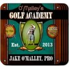 Personalized Golf Academy Coaster Set