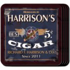 Patriot Personalized Drink Coaster Set