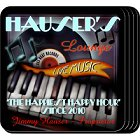 Piano Lounge Personalized Coaster Set