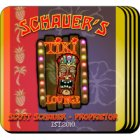 Personalized Tiki Lounge Bar Coaster Set