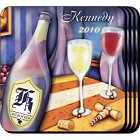 Wine Painting Personalized Drink Coaster Set