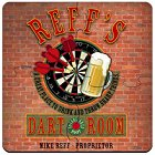 Personalized Dart Room Coasters Puzzle Sets