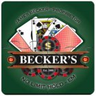 Personalized Poker Coasters Puzzle Sets