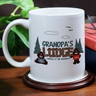 Hibernate Lodge Personalized Coffee Mug