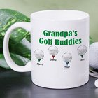 Golf Buddies Personalized Golfer Coffee Mugs