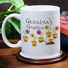 Garden of Love Personalized Mom Coffee Mugs