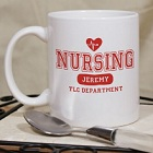 Nursing TLC Personalized Nurse Coffee Mugs