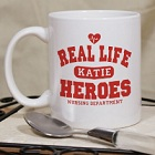 Real Life Heroes Personalized Nurse Coffee Mugs