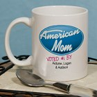 American Mom Personalized Mother's Day Coffee Mugs