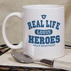 Real Life Heroes Personalized Police Officer Coffee Mug