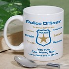 Police Officer Personalized Coffee Mug