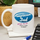 American Dad Personalized Coffee Mug