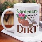 Personalized Gardener Coffee Mug