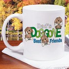 Doggone Friends Personalized Dog Lover Coffee Mug