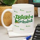 Irish Personalized Coffee Mugs