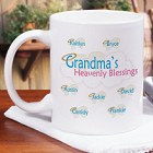 Heavenly Blessings Personalized Coffee Mug