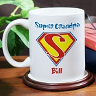 Any Title Super Hero Personalized Coffee Mug