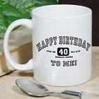 Happy Birthday To Me Personalized Birthday Coffee Mug