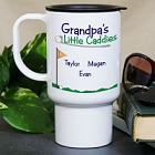 Personalized Little Caddies Golfing Travel Mug
