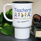 Make Each Child Count Personalized Teacher Travel Mugss