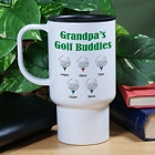 Golf Buddies Personalized Golfer Travel Mugs