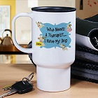 I Don't Need Therapy Personalized Dog Travel Mug