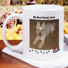 Personalized Dog Photo Coffee Mug