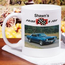 Pride and Joy Personalized Car Photo Coffee Mugs