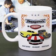 My Garage Personalized Coffee Mugs