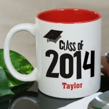Graduation Cap Class of 2015 Personalized Graduation Coffee Mugs