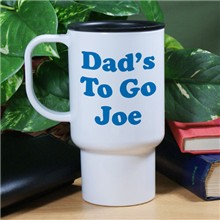 Any Message Personalized Travel Mugs