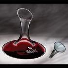 Renata Engraved Crystal Wine Decanters