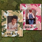 Personalized 5 x 7 Camo Picture Frames