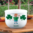 Personalized Irish Ice Cream Bowl