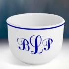 Monogrammed 20 oz Ceramic Ice Cream Bowl